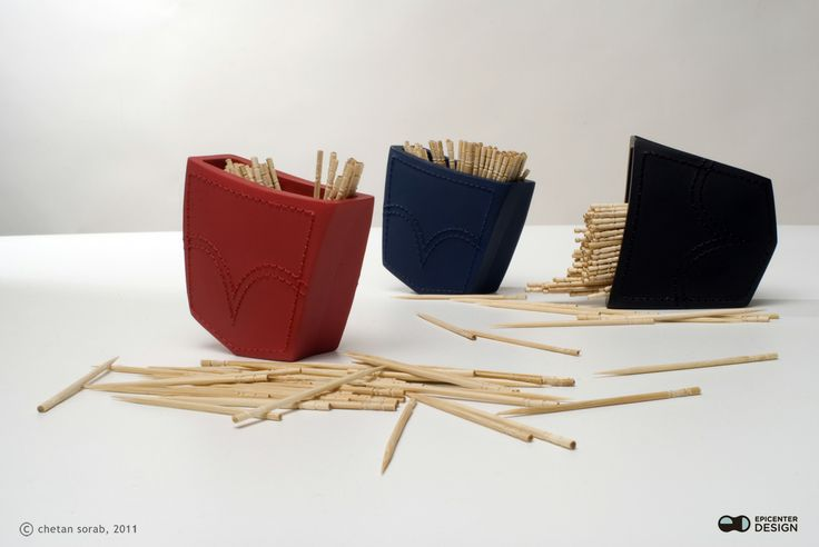 Toothpick Holder Pocket