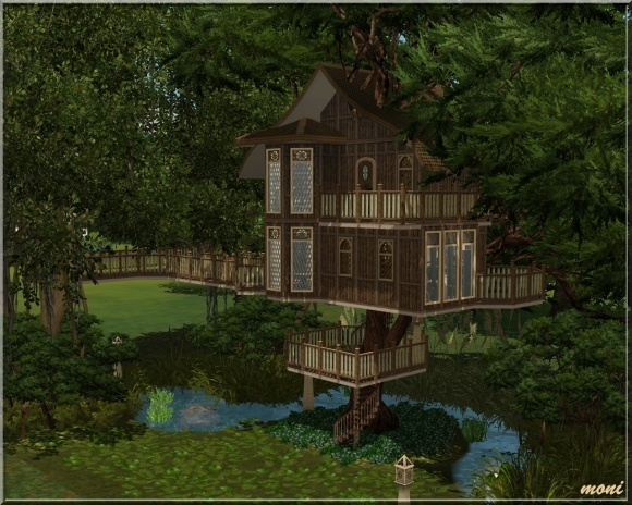 Tree House at Arda - Sims 3 Finds