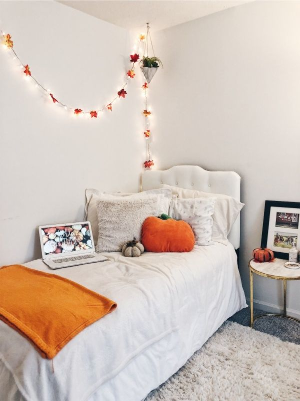 vsco - lucyvirgei | fall bedroom, fall bedroom decor, fall room decor