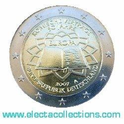 Germania - 2 Euro Trattati di Roma, 2007