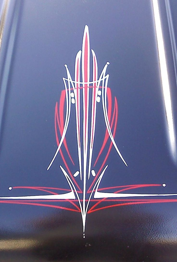 You Can T Beat Black Red White Pinstriping Designs