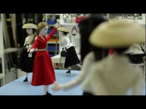 Dolls - Christmas windows at Le Printemps Paris. Jean-Claude Dehix, the most famous of puppet masters, has been creating window displays for Paris department stores for over thirty years. He tells DiorMag about his work, and what it was like to collaborate with the house of Dior.