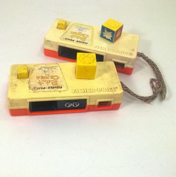 Fisher Price Pocket Camera 464 Vintage Toy Cameras Vintage