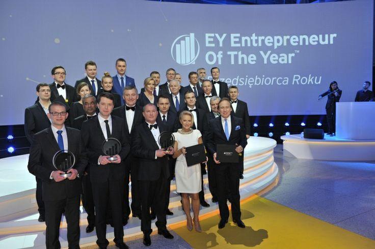 W Wola Center miała miejsce gala finałowa 11 Edycji Konkursu Przedsiębiorca Roku | EY Entrepreneur Of The Year