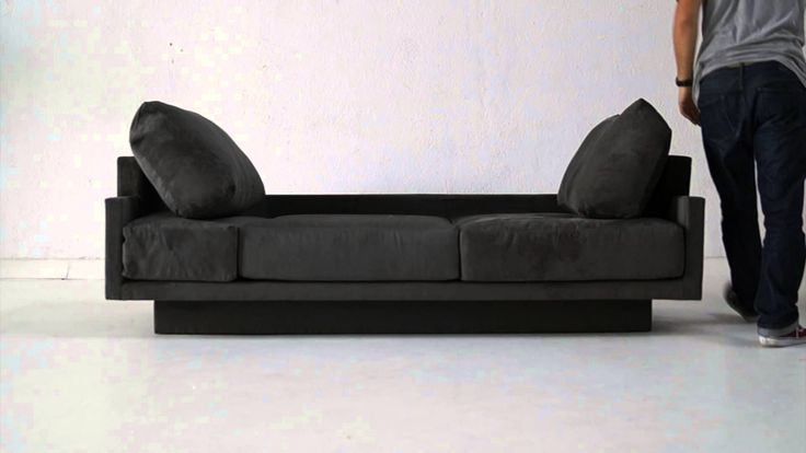 das cloud b funktionssofa von feydom stylisch als sofa bequem als bett. Black Bedroom Furniture Sets. Home Design Ideas