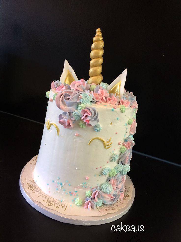Täytekakku tytölle, yksisarvinen Unicorn cake