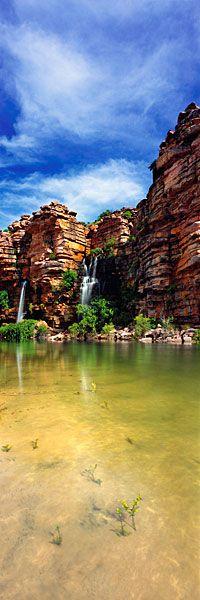 Tranquil Beach Falls, #Kimberley #WesternAustralia