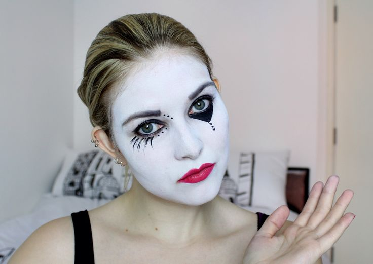 1000+ Images About Clown U0026 Mime Makeup On Pinterest | Circus Clown Stick Art And Jester Makeup