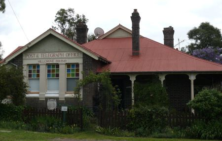 Old Hillgrove Post Office and Telegraph Station, NSW.