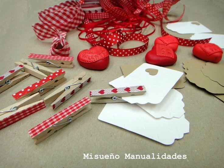 Preparando corazones de Fimo para San Valentín, febrero 2015.  www.misuenyo.com / www.misuenyo.es