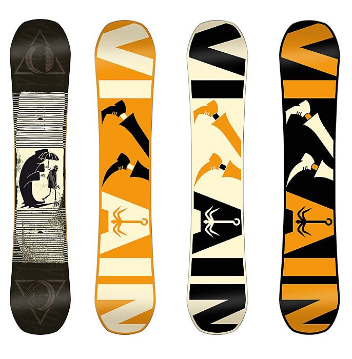 Salomon Villain Snowboard - Men's Snowboards - Winter 2016 - Christy Sports