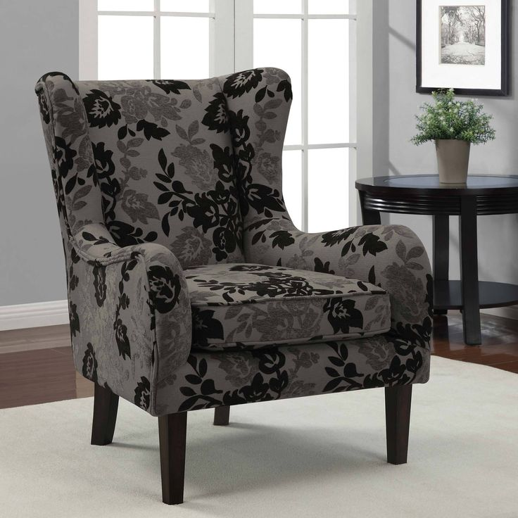 Floral Wingback Chair Covers