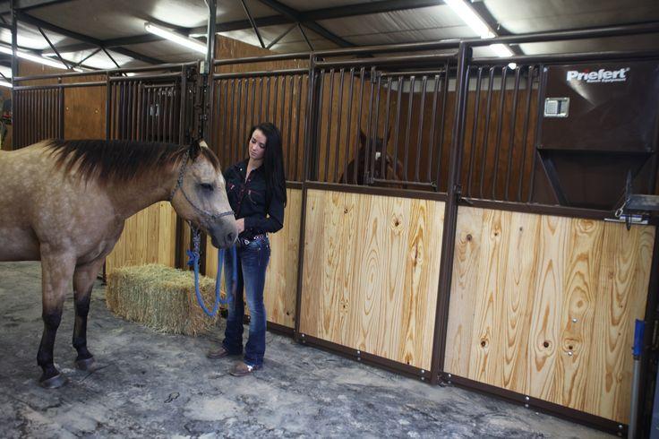 Priefert Premier Horse Stalls