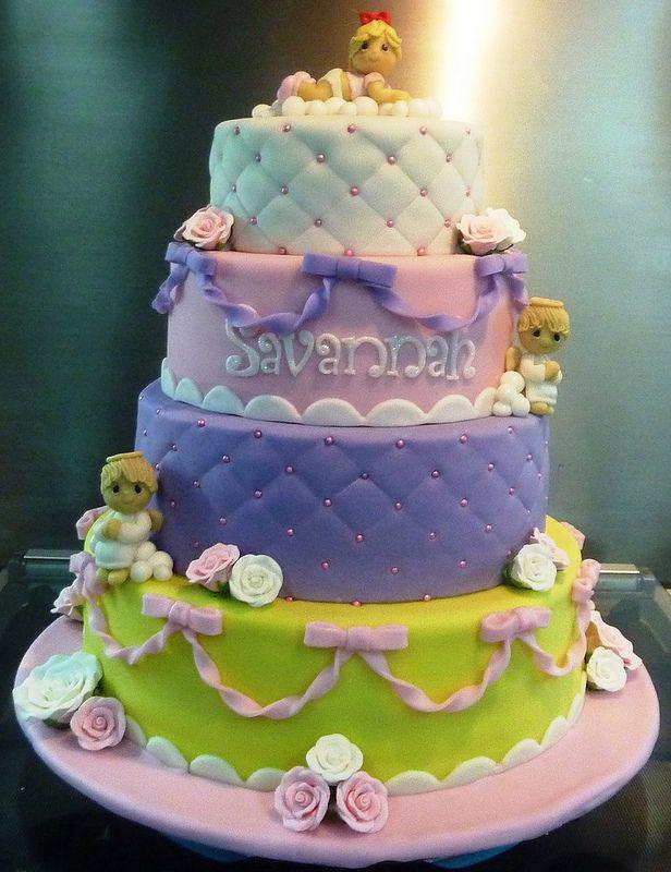 Precious Moments Baptismal Cake