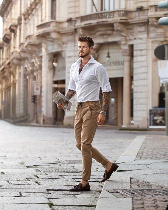 Dicas de looks masculinos (clique aqui para assistir)