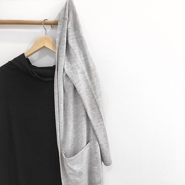 Pre order the Grey Marl Long Cardigan now, before it sells out! Contact your Bra Fit Specialist today. #loveintimo #getfitted #brachat #feelgoodfit