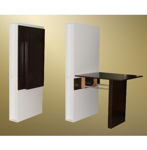 Mesa plegable pared cocina buscar con google mesas - Mesas escritorio plegables ...