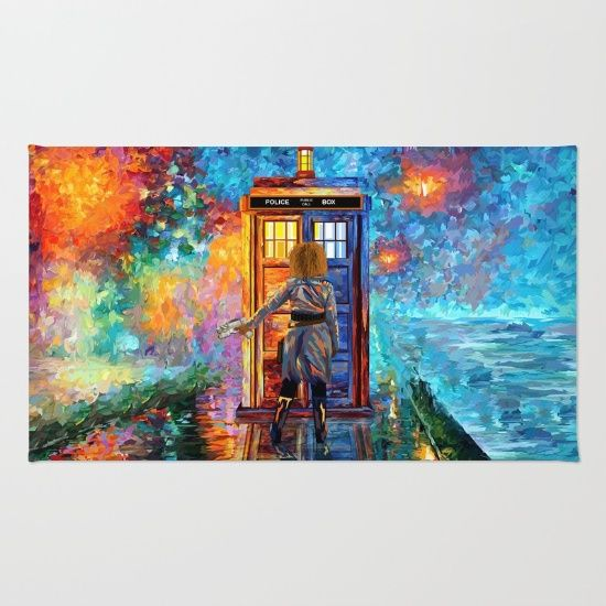 BeautifuL Blondie Lost in the strange city RUG  #rug #painting #acrylic #watercolor #abstract #illustration #popart #tardisdoctorwho #doctorwho #davidtennant #publiccallbox #phonebox #happybirthday #riversongs #12thdoctor #10thdoctor #alexkingston
