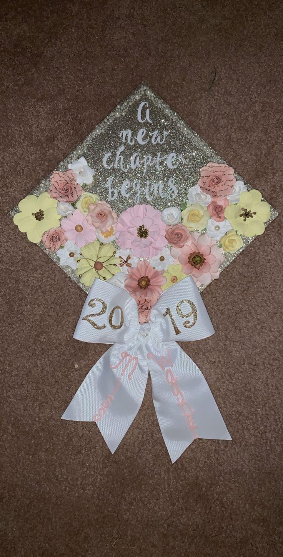 I LOVE my college graduation cap! #College #graduation #grad #cap #englishteacher -