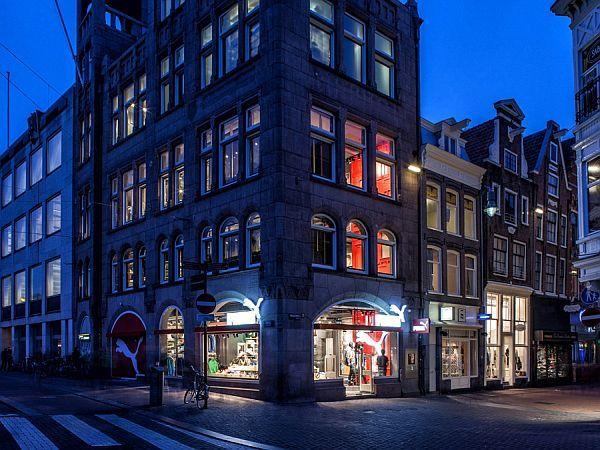 Puma shop interior design in Amsterdam