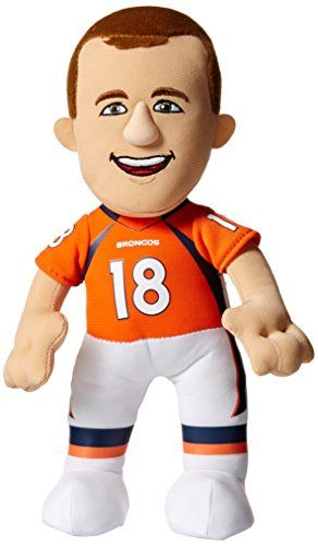 Cheap NFL Denver Broncos Peyton Manning Player Plush Doll 6.5-Inch x 3.5-Inch x 10-Inch Orange/Blue Father day sale