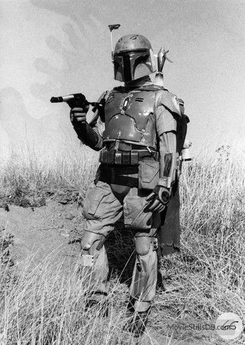 Star Wars: Episode V - The Empire Strikes Back behind the scenes photo of Jeremy Bulloch