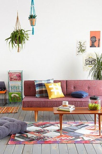 35 Elegant Mid-Century Sofas For Your Interior | DigsDigs This website is like mid century furniture porn.