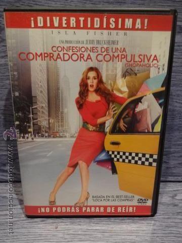 CONFESIONES DE UNA COMPRADORA COMPULSIVA. ISLA FISHER. DVD DE BUENA CALIDAD.