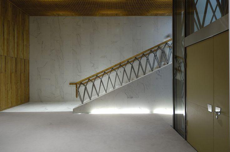 Peter Märkli - Novartis visitor center, Basel 2006