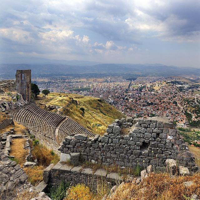 ysvoice:    | ♕ | Amphitheater of Pérgamo - Izmir, Turkey | by © Pilar Azaña