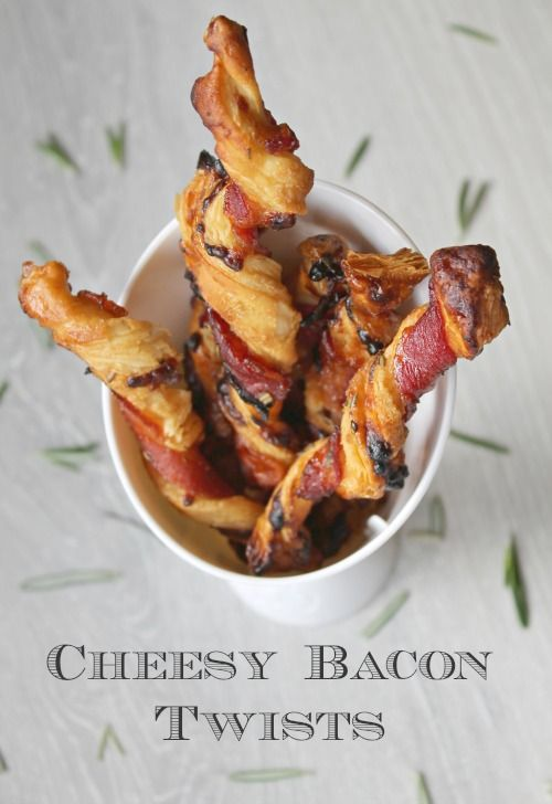 Cheesy Bacon Twists Recipe | Let's Talk Mommy