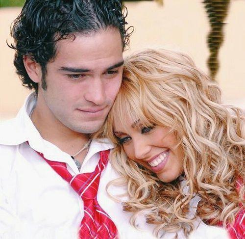 RBD, Anahi, and couple