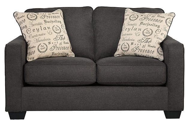 Grey couch loveseat for your living room furniture ashley