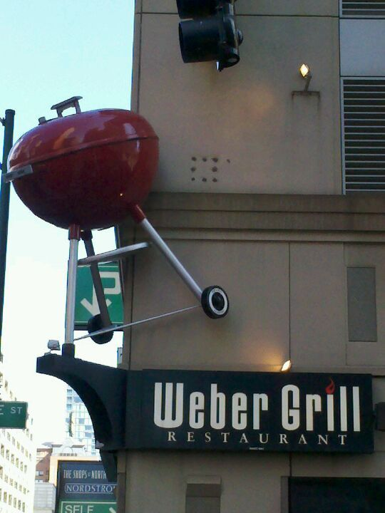 Weber Grill Restaurant in Chicago, IL- Check!