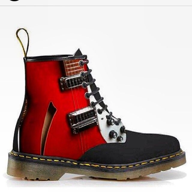 Dr. Martens Rocking Boots