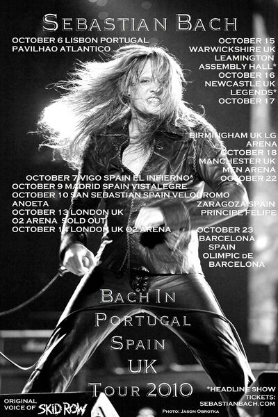 Check out Sebastian Bach on ReverbNation