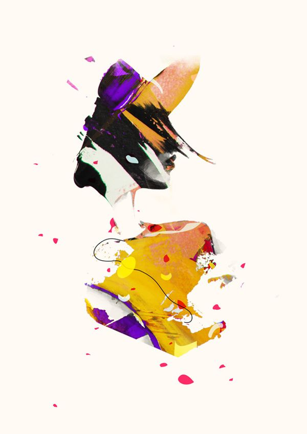 'OVEREXPOSED' Illustrations 2012 by Spiros Halaris, via Behance