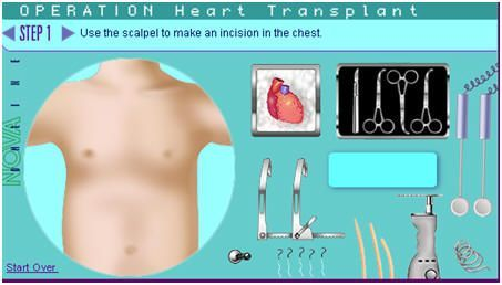 virtual surgeries and dissections - my kids LOVED these.  A great alternative to dissection, or introduction.