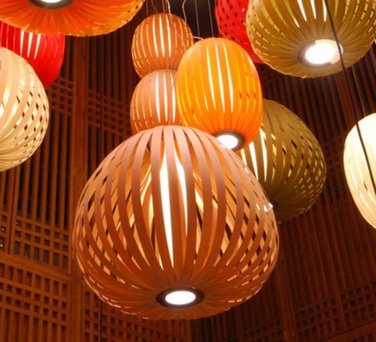 39 best Luminaire en bois wood lighting cozy interior images on
