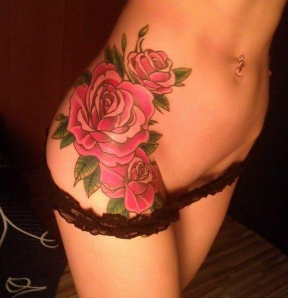 Tatuaże na biodrze 3