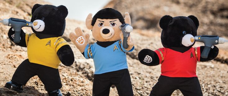 News - Star Trek Build-A-Bears? We're can hardly bear the excitement. Details at...