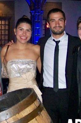 Alfonso Herrera y su novia Perla