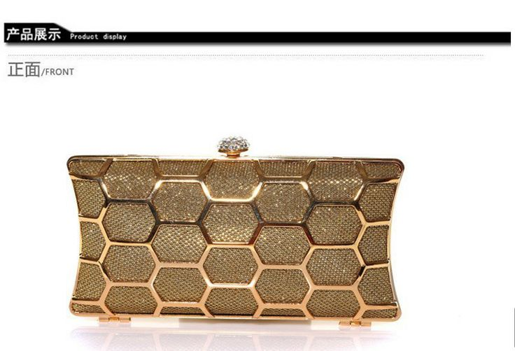 2014 free shipping fashion women  clutch evening bag hollow  banquet clutch US $28.98