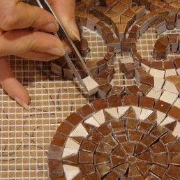 Curso de mosaico florentino en Florencia, Italia