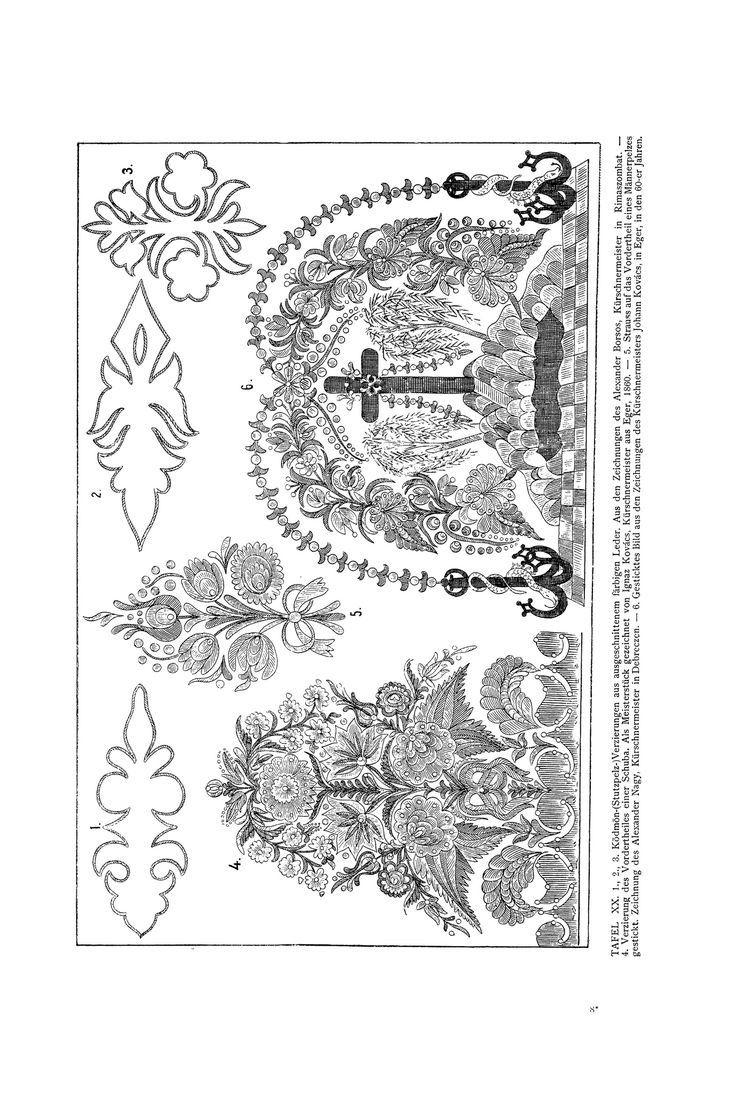 Magyar ornament, Hungarian  ornament.