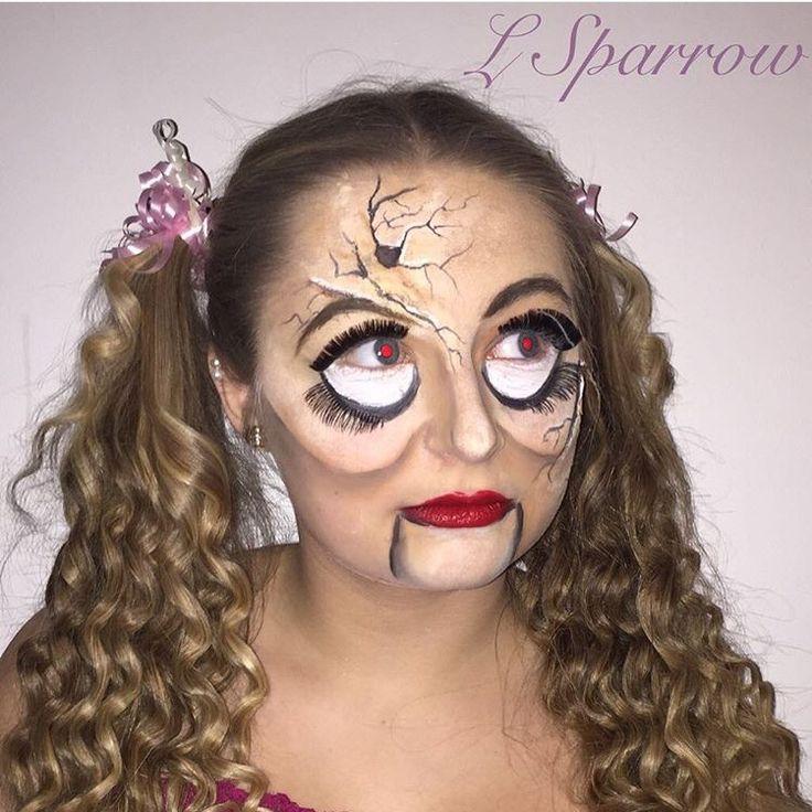 My creepy china doll special fx ~ follow me @ Facebook- L.Sparrow Designs ~ Instagram @LSPARR212