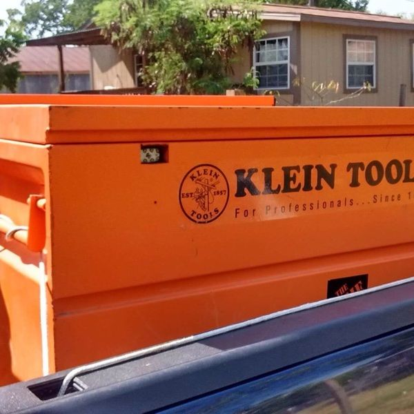 """For Sale: 48"""" Job Site Tool Box for $400"""