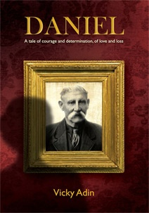 This was the original cover for 'The Disenchanted Soldier' and the story of Daniel, a New Zealand pioneer and his family