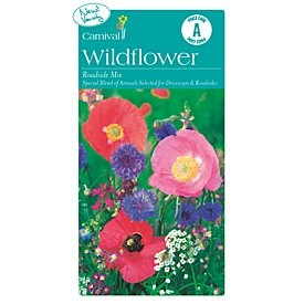 Carnival Seeds Wildflower Roadside Mix $2.14 (300 seeds)