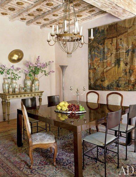Look inside livia rebecchini s 16th century apartment in for Apartment design rome
